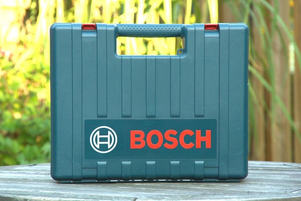 Koffer vom Bosch Bohrhammer Blau