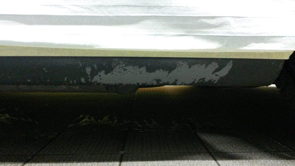 Lackschaden nach Hochdruckreinigereinsatz am Auto