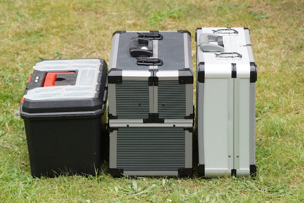 Werkzeugkoffer Test - Verschiedene Werkzeugkoffer