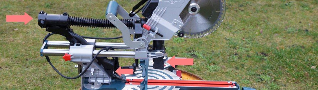 Absauganschluss Bosch Paneelsäge GCM 8 SJL