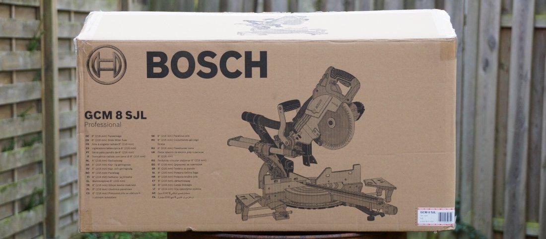 Bosch GCM 8 Karton