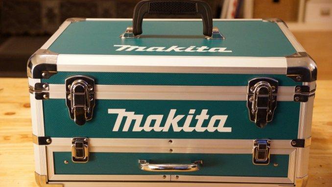 Makita Akkuschrauber DHP453RFX2 Koffer Test