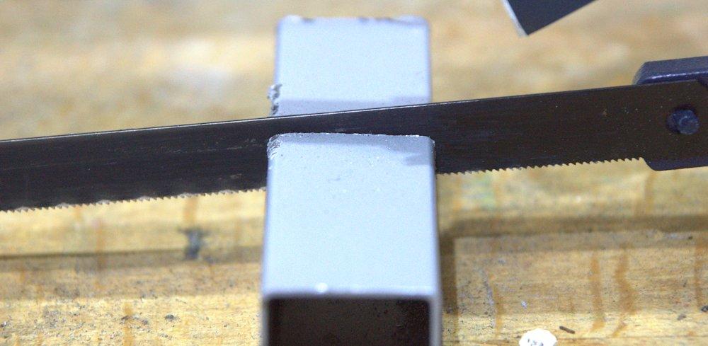 Aluminiumprofil Metallsaege