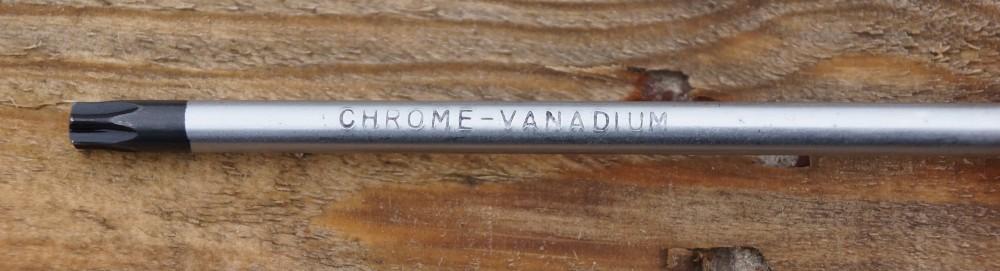 Schaft Schraubendreher mit Einstanzung Chrome Vanadium